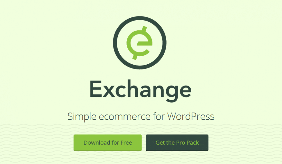 iThemes Exchange landing page screenshot