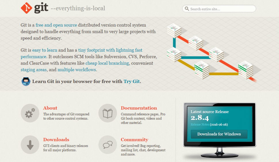 Git Homepage