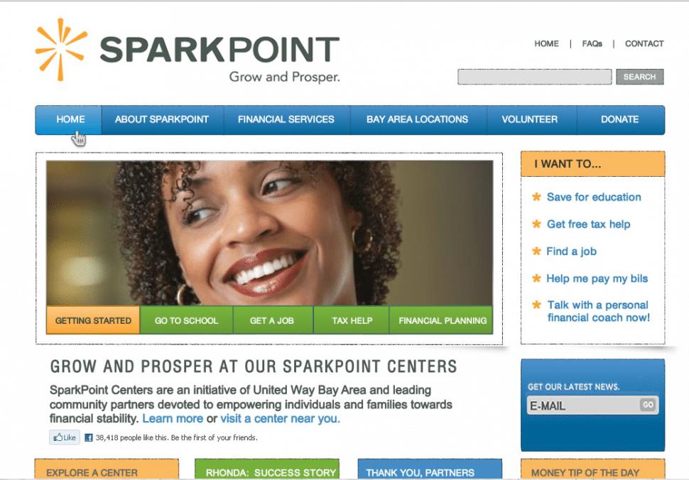 SparkPoint Fireworks Composite Screenshot