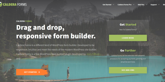 Caldera Forms home page