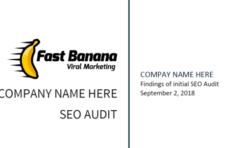 SEO Audit template