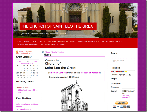 Church of Saint Leo the Great screenshot