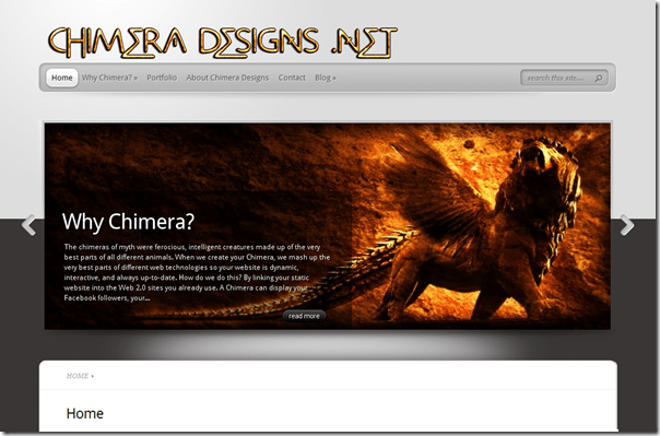 Chimera Designs screenshot
