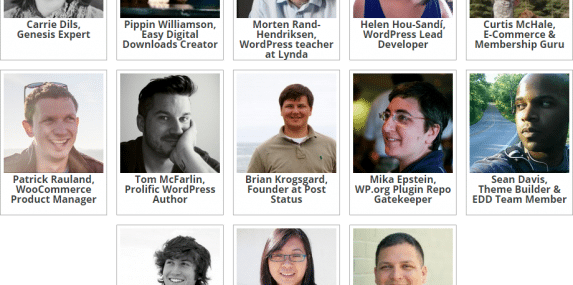 13 WordPress developers interviewed for the Up and Running with WordPress book/video