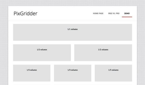 Pixgridder output